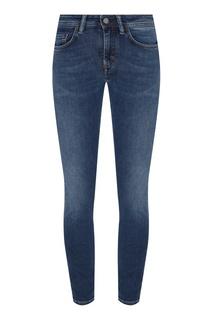 Синие джинсы скинни Acne Studios
