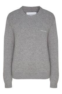 Серый джемпер Calvin Klein