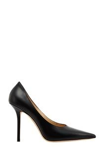 Черные кожаные туфли Ava 100 Jimmy Choo