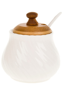 Сахарница с ложкой Best Home Porcelain