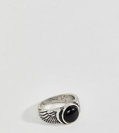 Кольцо с камнем Reclaimed Vintage - Серебряный