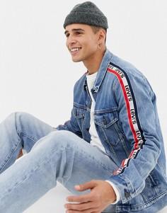 Куртка с полосками на рукавах в спортивном стиле Levis - Синий Levis®