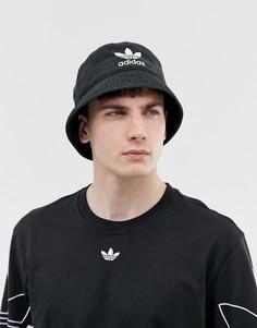 Черная панама adidas Originals - Черный