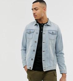 Синяя джинсовая куртка узкого кроя Brave Soul - Синий