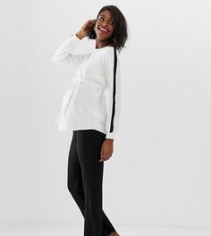 Трикотажные брюки для занятий йогой для беременных Mamalicious - Черный Mama.Licious