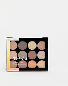Набор теней NIP+FAB Make Up Cool Neutrals - Мульти