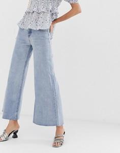 Широкие джинсы Lost Ink - Синий
