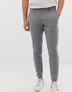 Строгие брюки узкого кроя Only & Sons - Серый