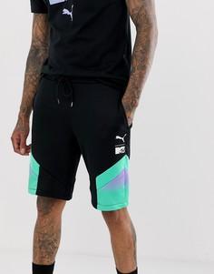 Черные шорты колор блок Puma x MTV - Черный