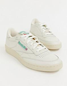 Белые кроссовки Reebok Club C - Белый