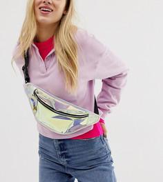 Сумка-кошелек на пояс с голографической отделкой Skinnydip Patty - Мульти