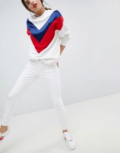 Укороченные джинсы скинни Esprit - Белый