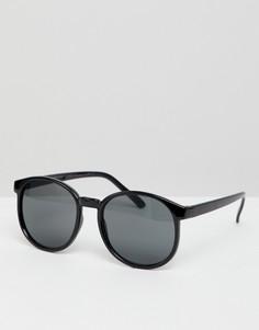 Солнцезащитные очки в стиле ретро 7X Mens - Черный