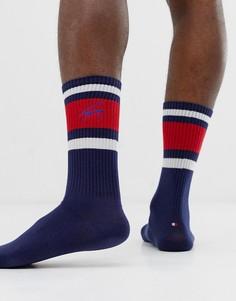 Темно-синие носки в стиле ретро с логотипом Tommy Jeans - Темно-синий