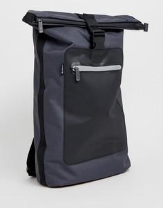 Серый рюкзак ролл-топ Ben Sherman - Серый