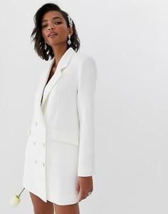 Свадебное платье-блейзер ASOS EDITION - Белый