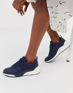 Кроссовки контрастной расцветки Vero Moda - Темно-синий