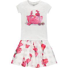 Комплект :футболка,юбка MEK для девочки