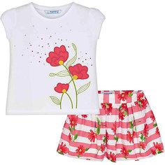 Комплект: Топ и юбка Mayoral для девочки
