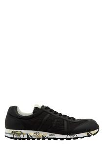 Черные комбинированные кроссовки Lucy Premiata