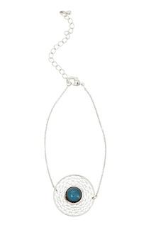 Серебристый браслет с лунным камнем Exclaim