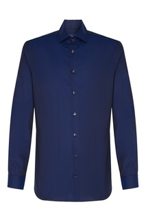 Темно-синяя рубашка Van Laack