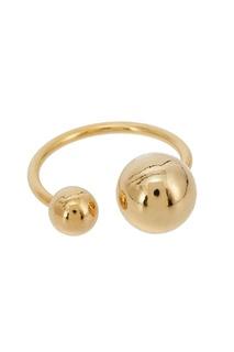 Золотистое кольцо с шарами Exclaim