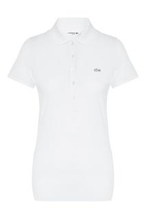Белая футболка-поло Lacoste