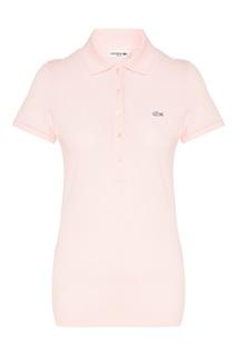 Розовая футболка-поло Lacoste