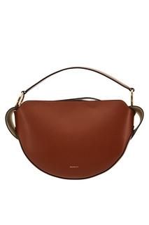 Терракотовая кожаная сумка Yara Wandler