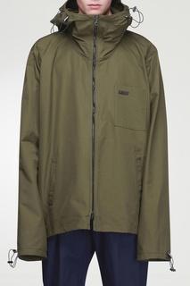 Куртка оттенка хаки Lanvin