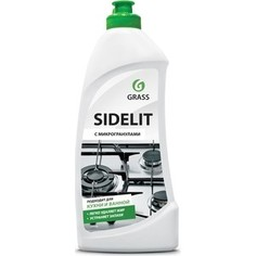 Чистящий крем GRASS для кухни и ванной комнаты Sidelit (флакон), 500 мл