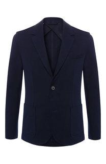 Хлопковый пиджак Lanvin