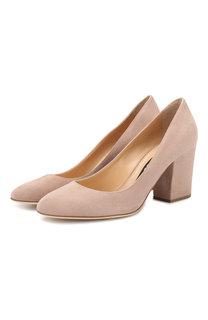 Замшевые туфли Virginia Sergio Rossi