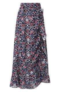Льняная юбка с принтом Isabel Marant Etoile