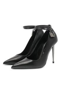 Кожаные туфли Padlock Tom Ford