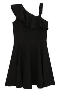 Платье с открытым плечом David Charles