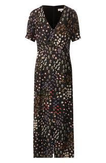 Платье из смеси вискозы и шелка Paul&Joe