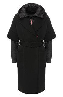 Пальто с капюшоном Emporio Armani