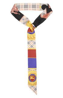 Шелковый шарф-бандо Burberry