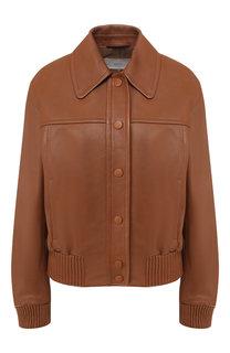 Кожаная куртка BOSS