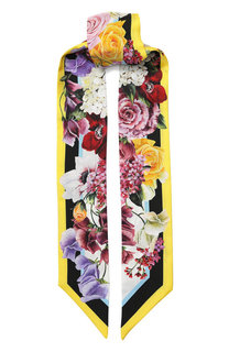 Шелковый шарф-бандо Dolce & Gabbana