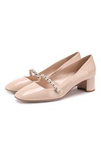 Лаковые туфли Miu Miu