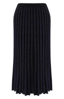 Юбка из смеси вискозы и шерсти Diane Von Furstenberg