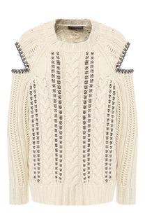 Кашемировый пуловер Alexander McQueen