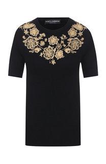 Кашемировый пуловер Dolce & Gabbana