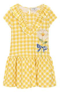 Хлопковое платье Monnalisa