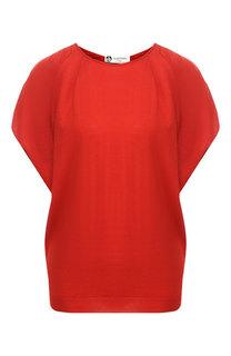 Пуловер из смеси шерсти и шелка Lanvin