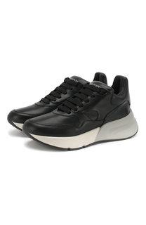 Кожаные кроссовки Alexander McQueen
