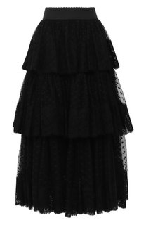 Многослойная юбка-миди Dolce & Gabbana